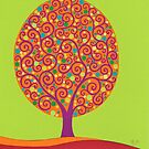 Tree of Life in Spring by MarkBetsonArt