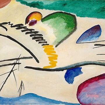 The Rider by Wassily Kandinsky by PZAndrews