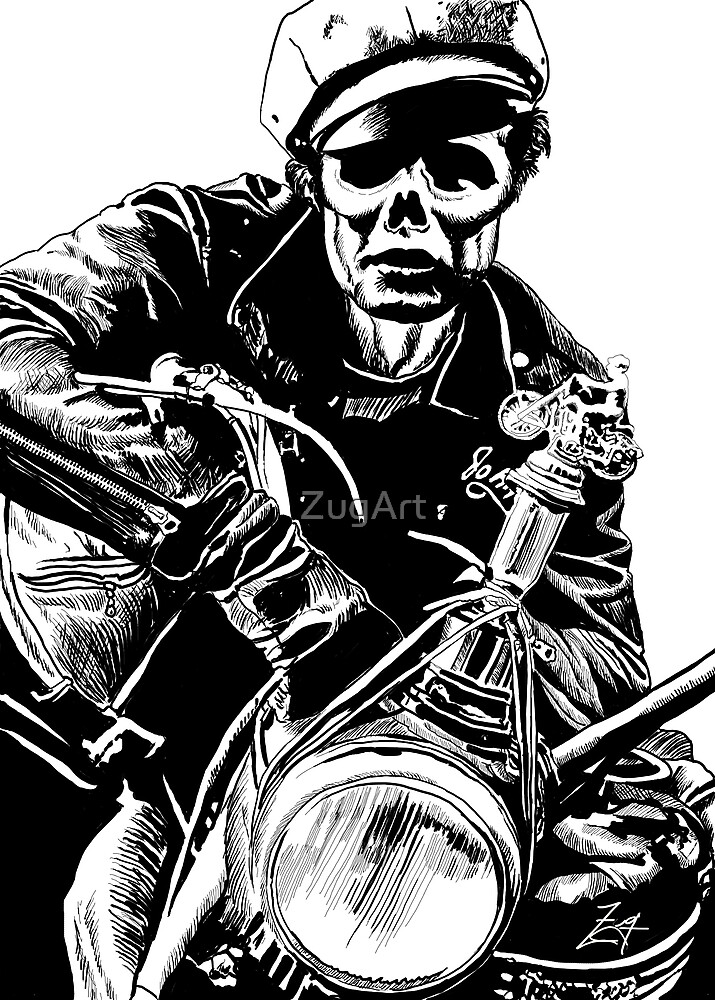 Zombie Brando by ZugArt
