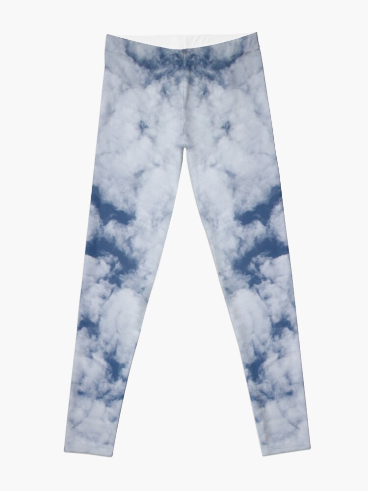 Alternate view of Altocumulus Abstract 1 Leggings