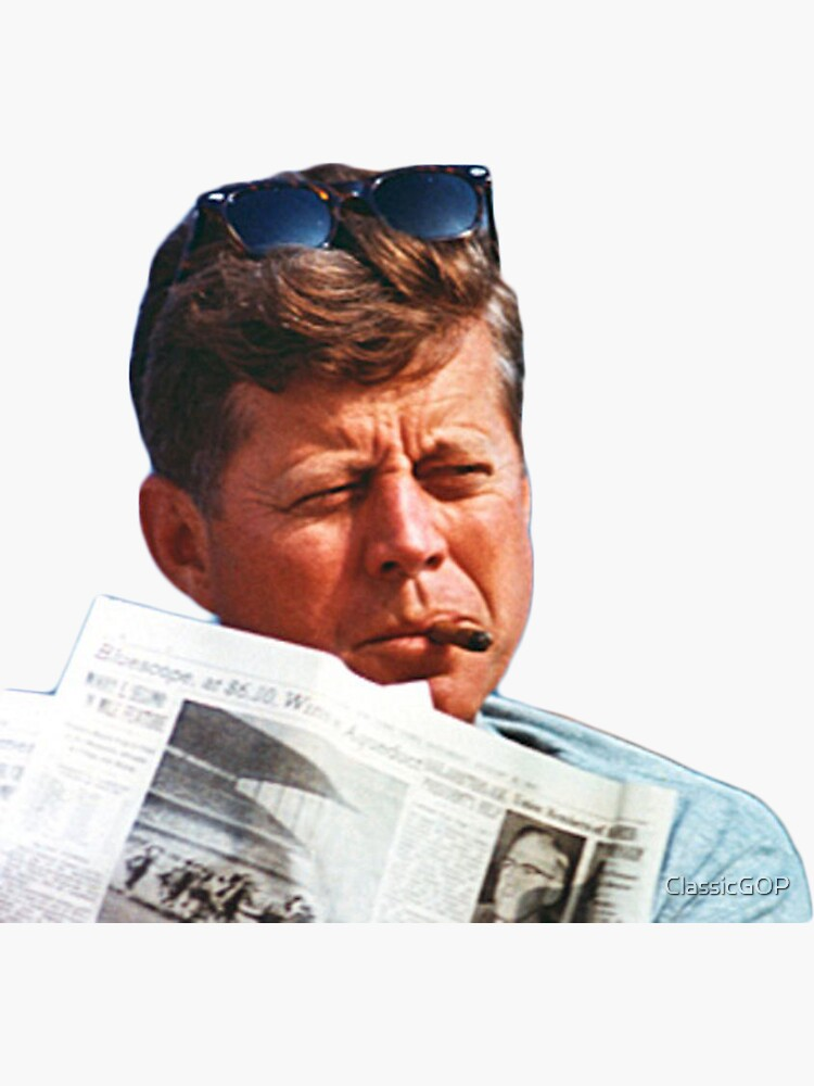 John F. Kennedy with the Cigar by ClassicGOP
