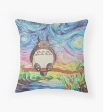Totoro 3 Floor Pillow
