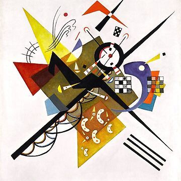 Kandinsky - On White II by PZAndrews