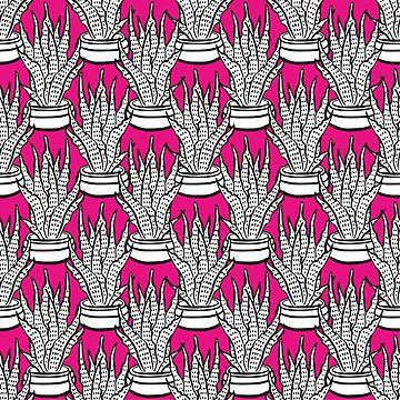 Doodle Cacti by alijun