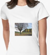 Landscape Women's Fitted T-Shirt