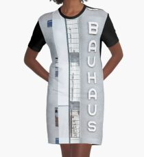 Bauhaus Graphic T-Shirt Dress