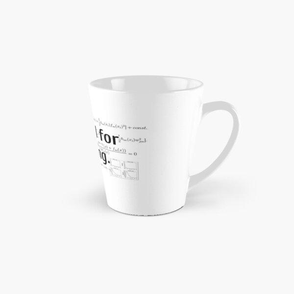 I Model for a Living Tall Mug