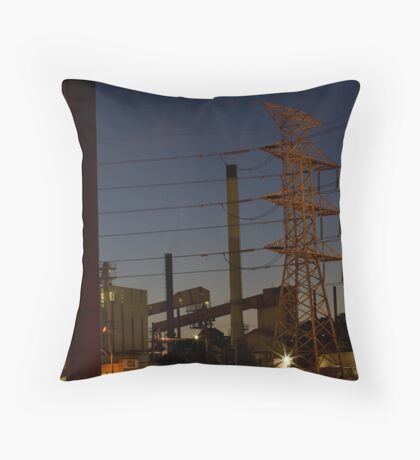 Reassuring glow, all is well in our world Throw Pillow
