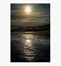 A Walk Along The Shore Photographic Print