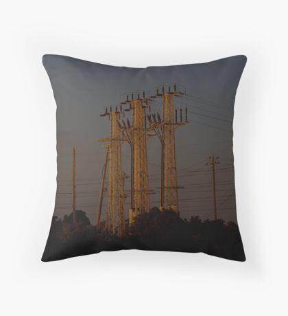 Reassuring glow, all is well in our world 2 Throw Pillow
