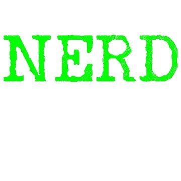 Nerd saying by 4tomic