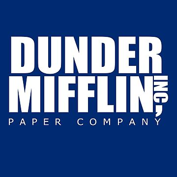 Dunder Mifflin Paper Company Logo - The Office Shirt by niftee