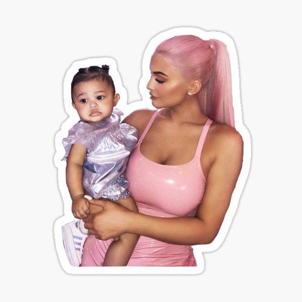 Kylie and Stormi Sticker Sticker