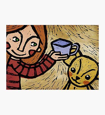 Want more tea? Photographic Print