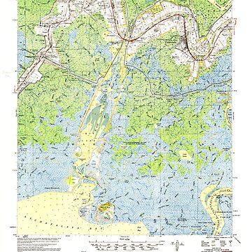 USGS TOPO Map Louisiana LA Belle Isle 334272 1954 62500 by wetdryvac
