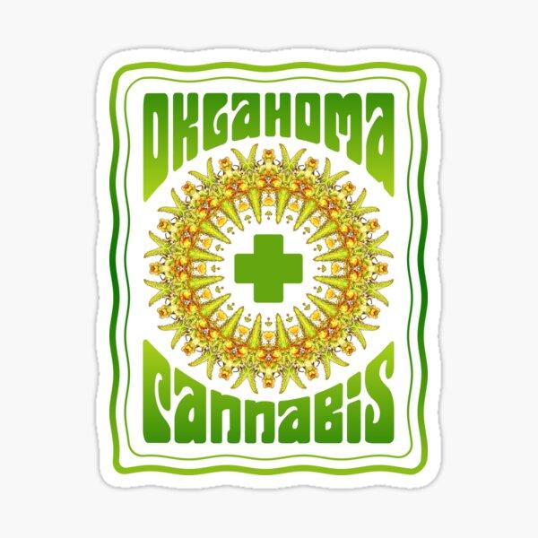 OKLAHOMA CANNABIS MARIJUANDALA Sticker