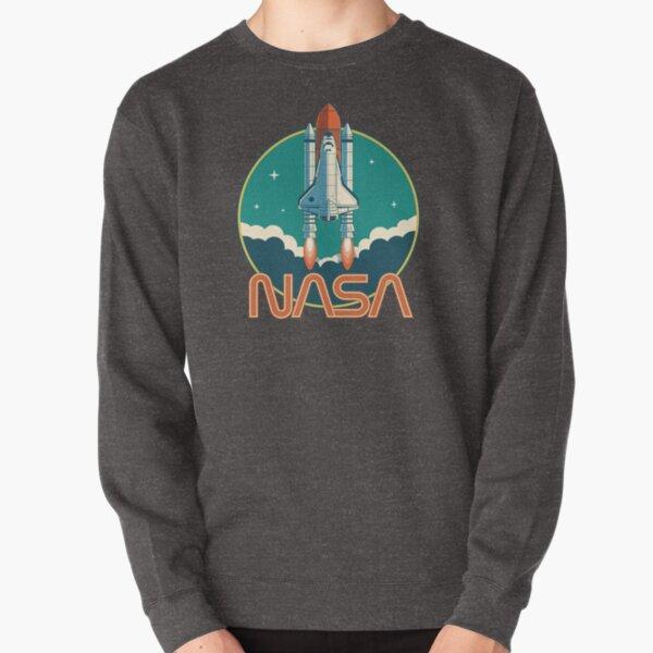 Logotipo del transbordador espacial retro de la NASA Sudadera sin capucha
