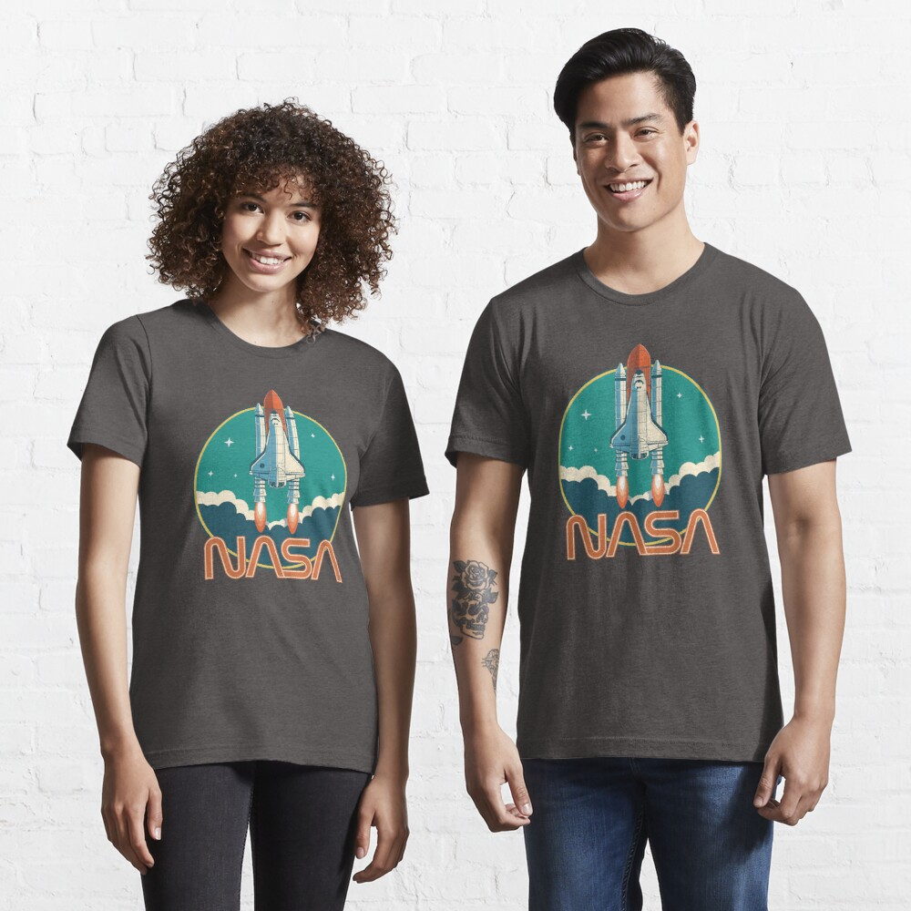 NASA Retro Space Shuttle Logo Essential T-Shirt