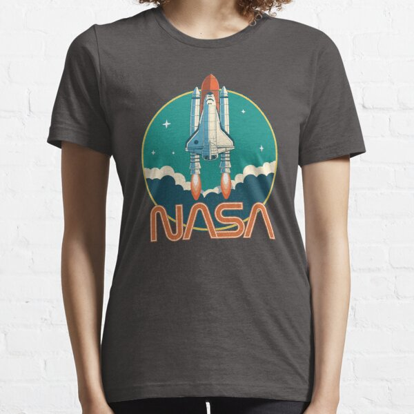 NASA Retro Space Shuttle Logo Essential T-Shirt