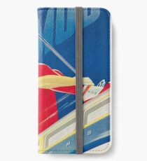 Swiss Ski Poster iPhone Wallet/Case/Skin
