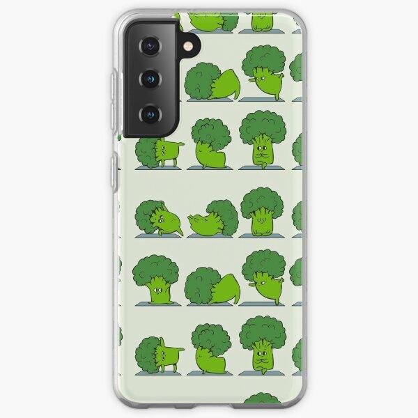 Broccoli Yoga Samsung Galaxy Soft Case