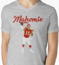 Patrick Mahomes (Mahomie) Men's V-Neck T-Shirt