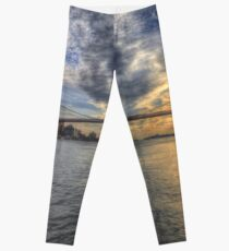 Legging Puente de Brooklyn Nueva York Sunset