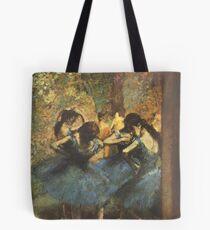 Bolsa de tela Edgar Degas Impresionismo Francés Pintura Al óleo Bailarinas Ensayando