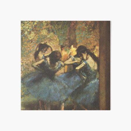 Edgar Degas French Impressionism Oil Painting Ballerinas Rehearsing Art Board Print
