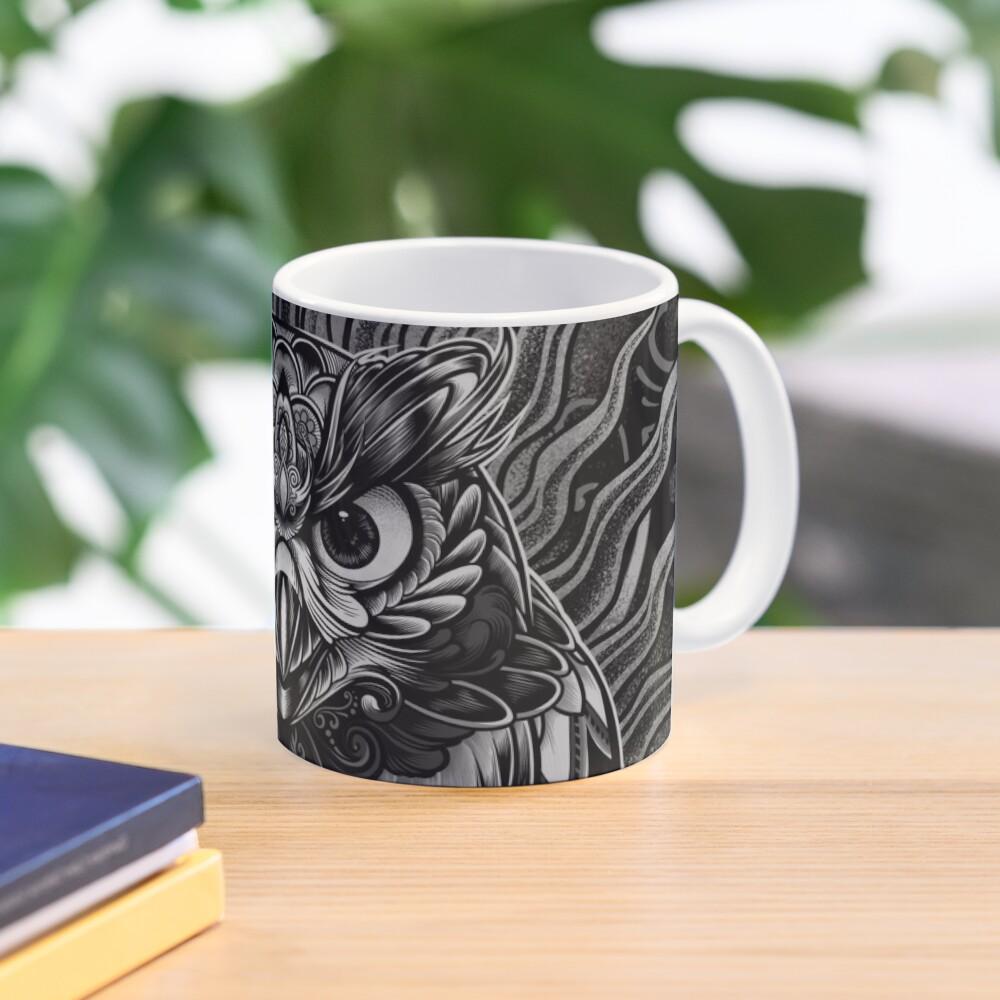 Owl - The Watcher V2 Mug