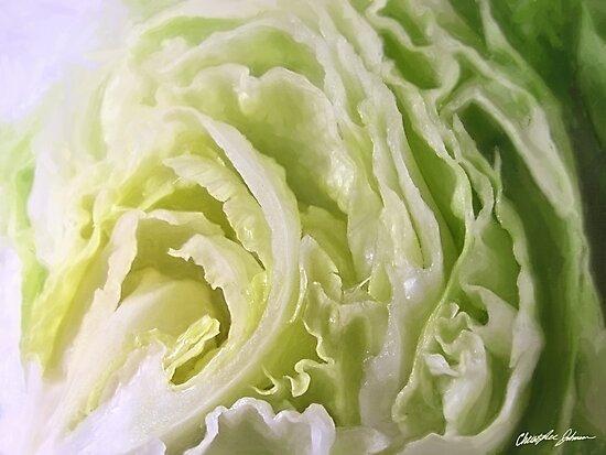Half Lettuce 1 by Christopher Johnson