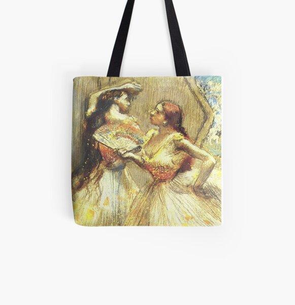 Sitting and Brushing by Edgar Degas Laptop Bag Shoulder Bag Messenger Bag