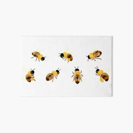 Honey bees Art Board Print