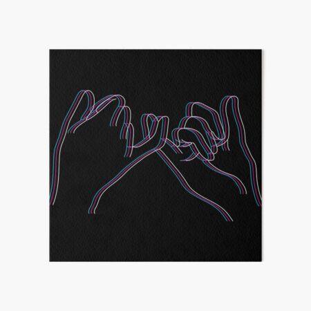 Pinky Promise Art Board Print