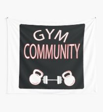 Gym Community Wall Tapestry