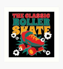 Inline roller skates Art Print