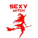 SEXY WITCH  HOT PAGAN  Graphic Meme Design by VIDDAtees