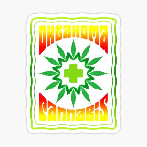 OKLAHOMA CANNABIS Sticker