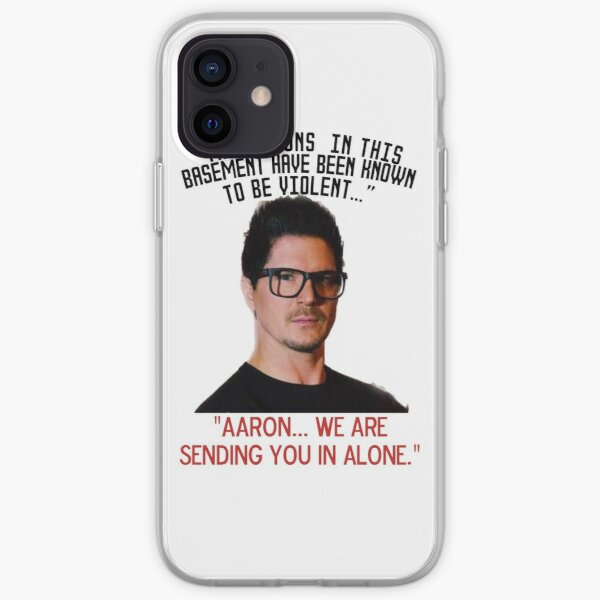 Zak mission to Aaron iPhone Soft Case