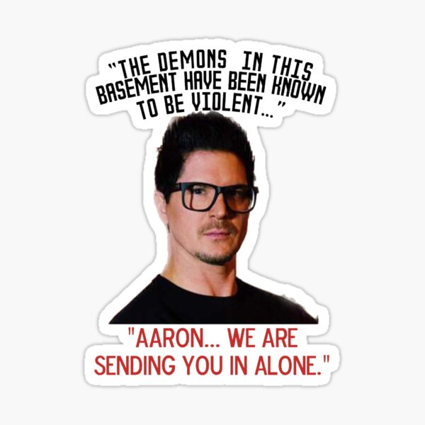 Zak mission to Aaron Sticker