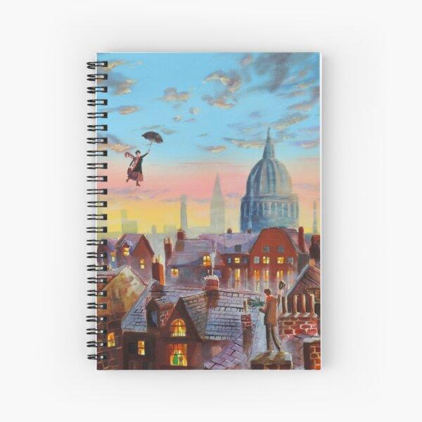 Mary Poppins & Bert II Spiral Notebook