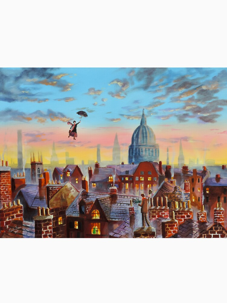 Mary Poppins & Bert II by gordonbruce