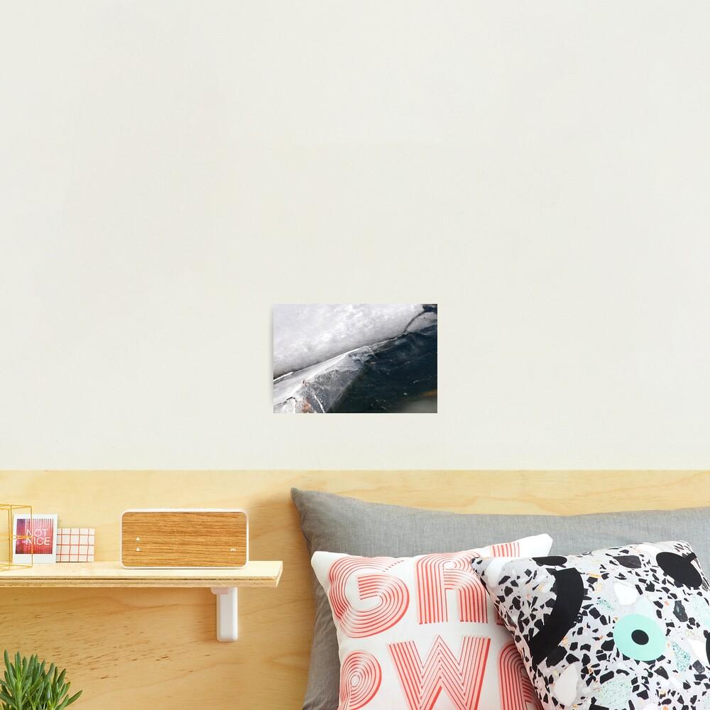 Ice Fold Photographic Print