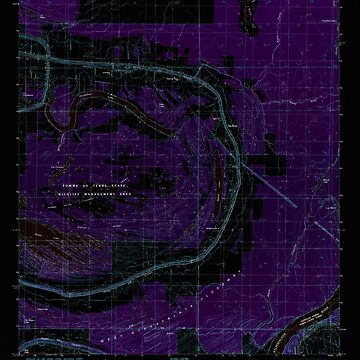 USGS TOPO Map Louisiana LA Big Bend 331452 1982 24000 Inverted by wetdryvac