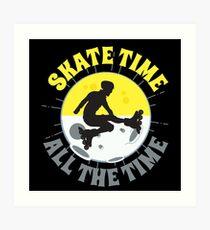 Roller skates Inline skates Art Print