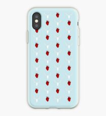 Hannibal Stag&Hearts Pattern iPhone Case