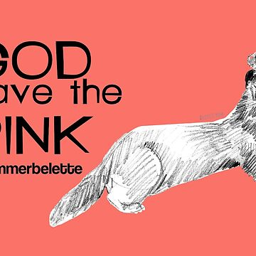 God save the Pink Coral by belettelepink
