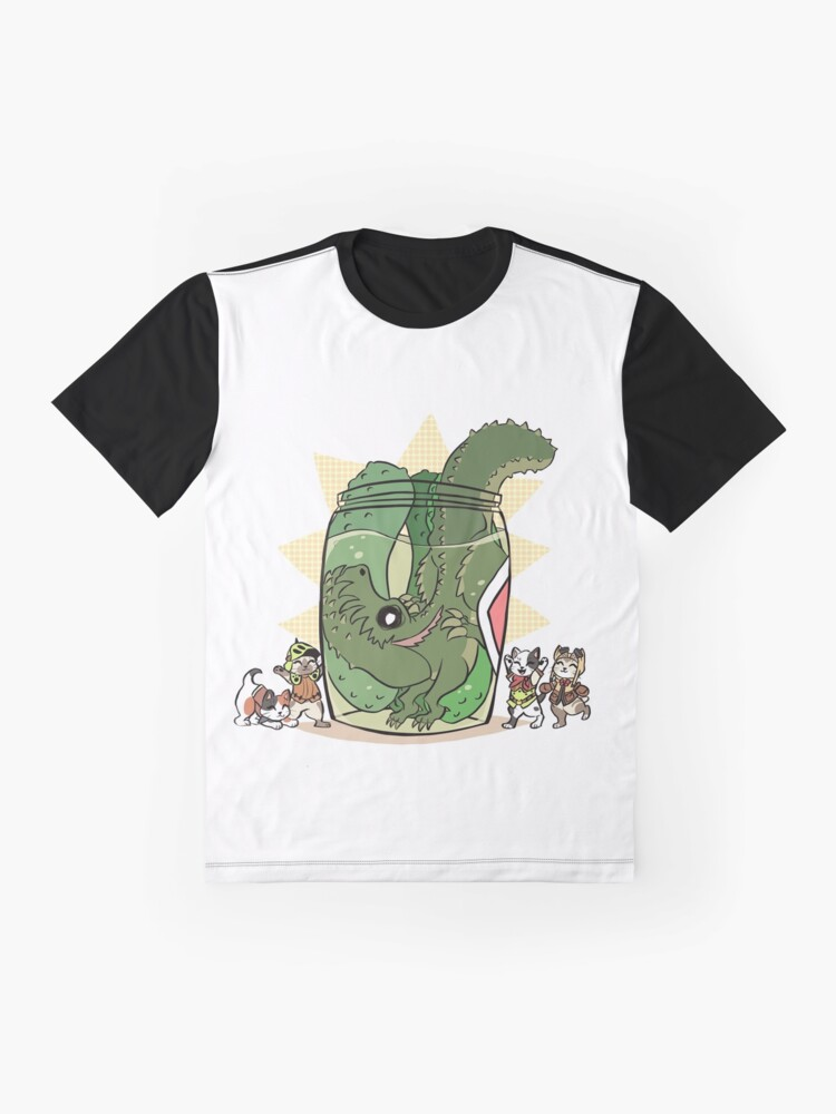 Alternate view of Pickle Monster Graphic T-Shirt