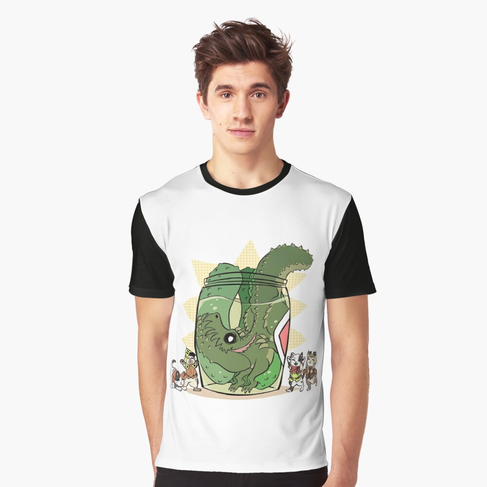 Pickle Monster Graphic T-Shirt