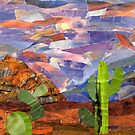 Cacti and Mountains in Arizona by Jennifer Frederick